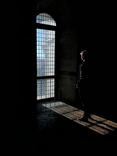 Inside Out💫 Silhouette Big Window Old House Old Buildings Light And Shadow Light Window Architecture Built Structure Sunlight Building Day Shadow Door Nature Dark Indoors  No People Flooring Entrance Security Protection Safety Glass - Material The Art Of Street Photography