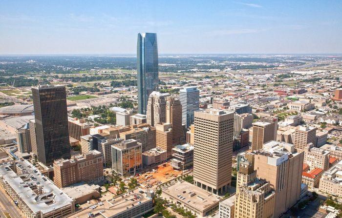 OKC. Okc Oklahoma OklahomaSkies City Metropolitan Skyscraper