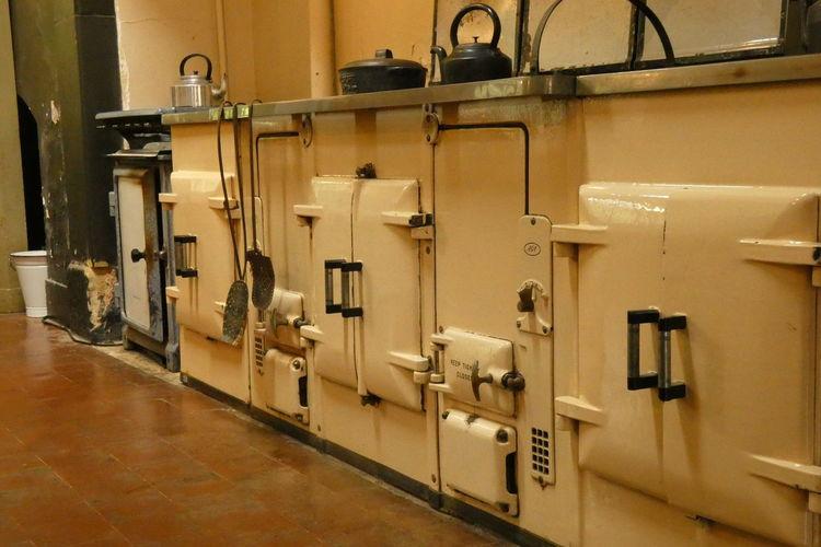 Range Oven Old