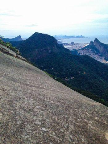 Vista da Pedra Bonita Corcovado Morro Dois Irmãos Rocinha Landscape Rio De Janeiro Rio Brasil Brazil