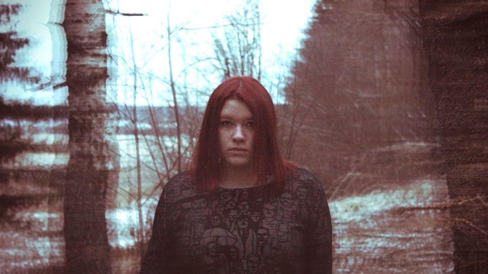 Girl Sedness Red