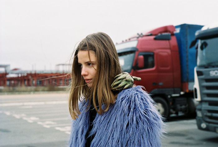 35mm Film Analogue Photography Film Ishootfilm Parking Lot Portrait Of A Woman Analog Artichoke Beautiful Woman Concentrated Film Photography Filmisnotdead Focused Fur Coat Girls Gloomy Lifestyles Outdoors People Portrait Warm Clothing Young Adult Young Women The Week On EyeEm Editor's Picks