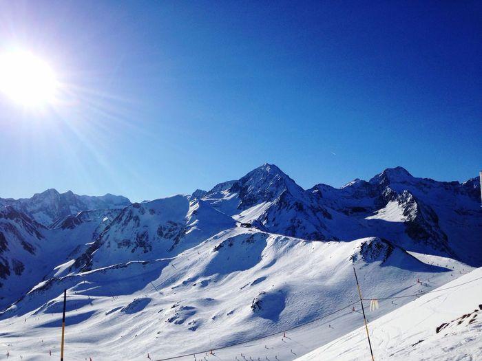Skiing Neige Peyragudes