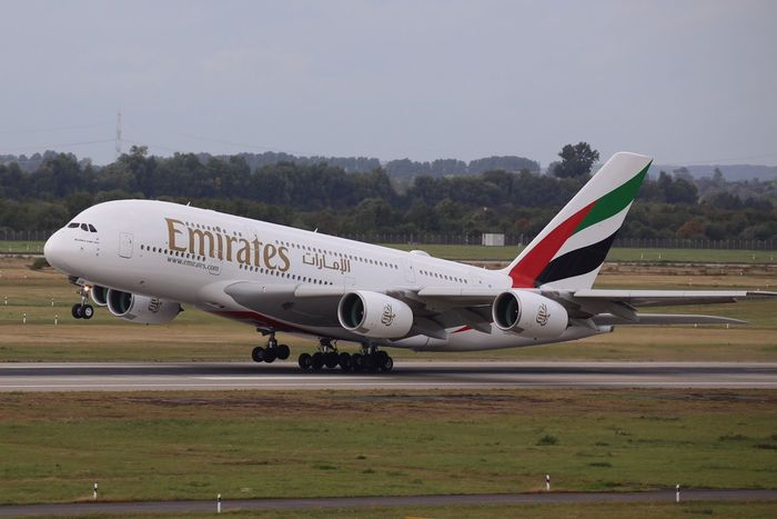 A 380 Emirates Airport
