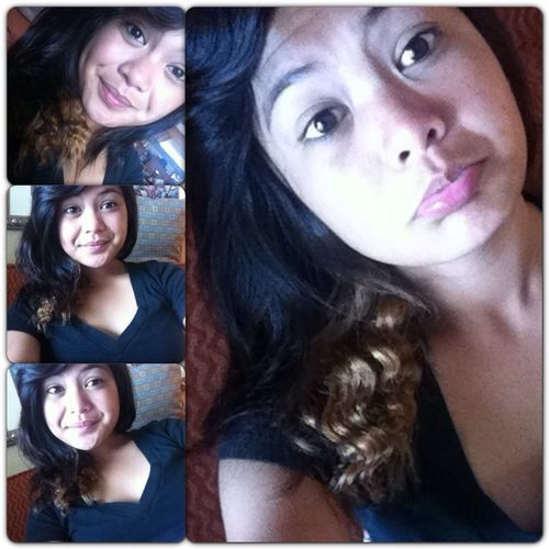 I felt cute w/o any makeup the other day. :P #noedit