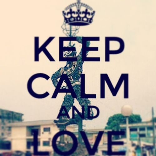Keep calm & love Douala  Team237 Jamais2sans37 Cameroon