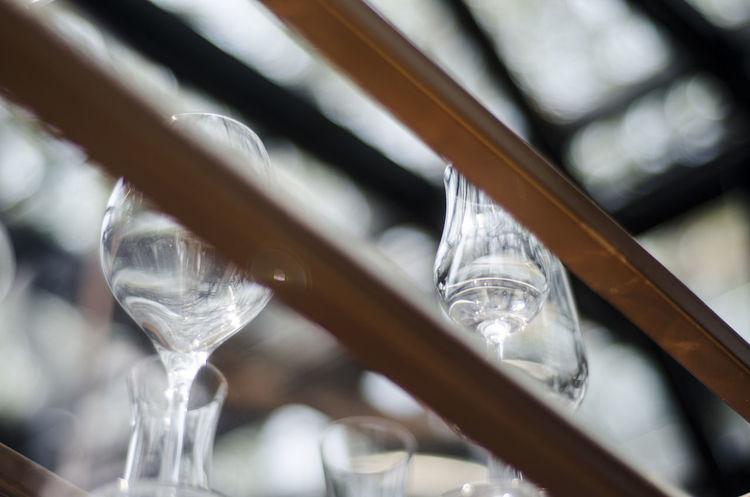 Glass on the bar. Blurred Objects Wine Glass Bar Bar Countertop Bartender Drinking Glass Food Glass