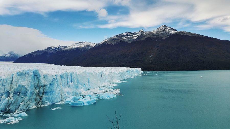 Perito Moreno Glacier Patagonia Argentina National Parc Los Glaciares Cold Temperature Mountain Winter Scenics - Nature Ice Water Beauty In Nature Tranquility Environment Glacier