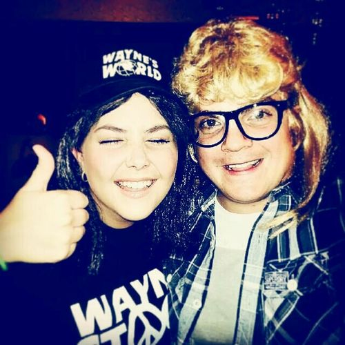 Party On! Waynesworld Wayne And Garth Fancy Dress