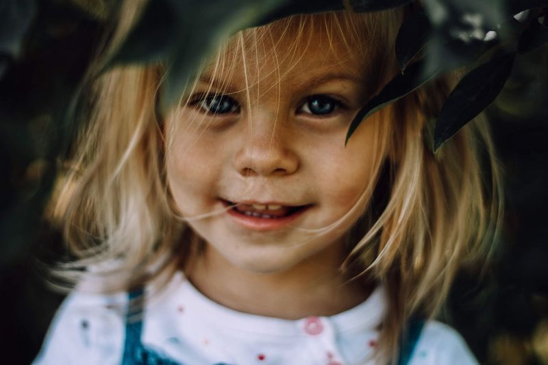 EyeEm Selects Childhood Innocence Real People Girls Cute One Person Focus On Foreground Close-up Looking At Camera Portrait Indoors  Day Fresh On Market 2017