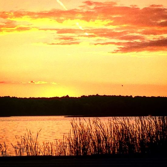 No People Clouds And Sky Sunset Water Water Sunset Lake Sunset_collection Sunsets Ohio, USA