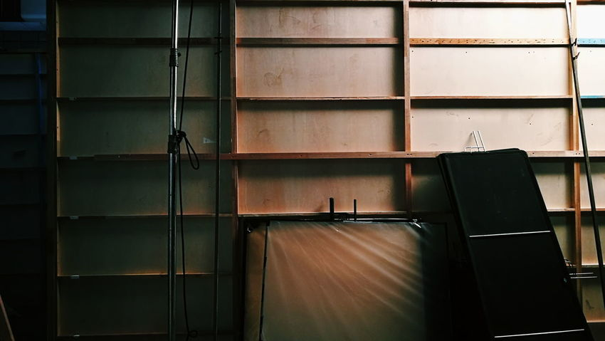 Indoors  No People Backgrounds EyeEm Built Structure Film Industry Filming Back Stage Light And Shadow Light In The Darkness Lighting Equipment Indoors  Resting Coldness Photography