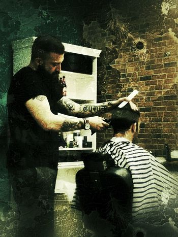 Barbershop Barberstyle Barber Retro Styled Huawei P9 Photos