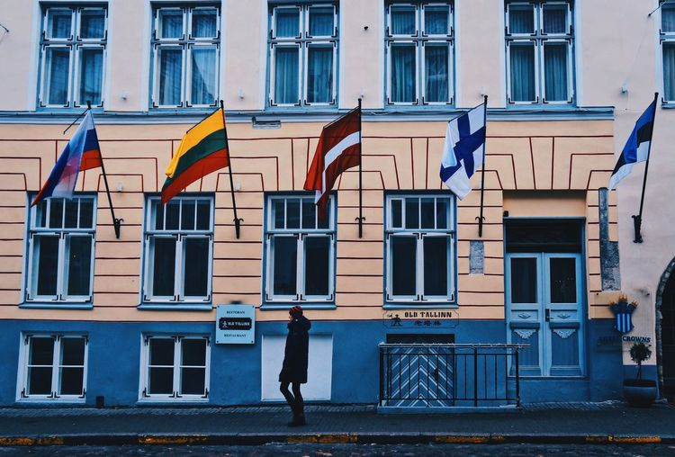 """To survive in peace and harmony, We must have United Nations and enemy with no one!"" 🤝🤝🤝🤝🤝 Europe Trip Europe Ancient Architecture Tallinn Estonia Independence Day Peace Freedom Moving Freedom Square  Architecture Building Exterior Built Structure Day Window Patriotism Building Flag City Striped Pride Emotion Symbolism Transportation Text Residential District Symbol Outdoors National Icon"