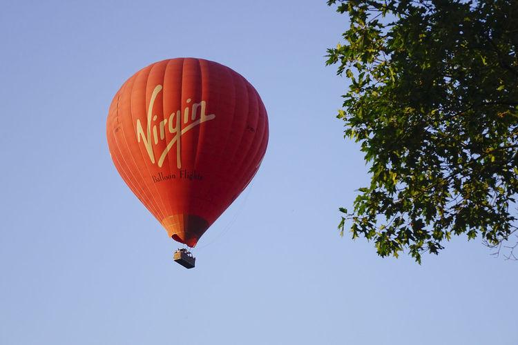 A Virgin hot air balloon flight over the Surrey countryside in Milford, England. England England, UK England🇬🇧 Godalming Hot Air Balloon Hot Air Ballooning Hot Air Balloons Milford Richard Branson Surrey Surrey Countryside Virgin