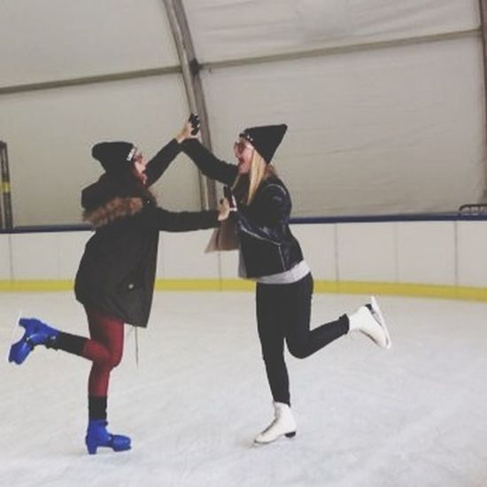 Ice Skating with my Bitch