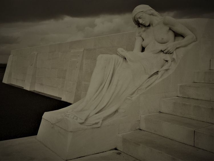National Vimy, Memorial in Vimy Human Hand Human Representation People Statue World War 1 World War 1 Memorial Young Women