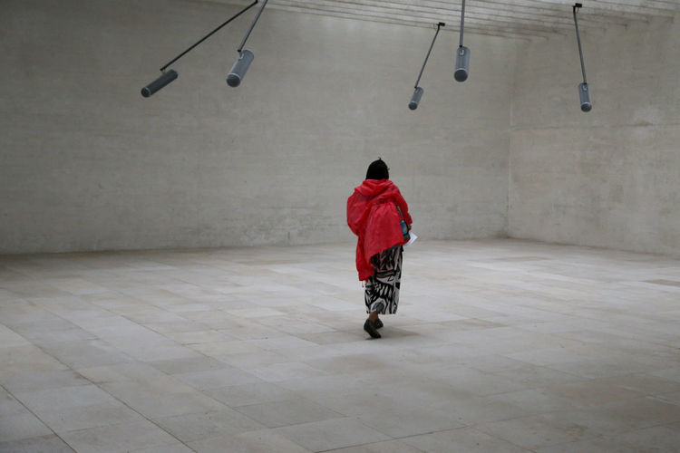 Nordic pavilion, Venice Biennale 2015 Nordic Light Scandinavia Woman Biennale Di Venezia 2015 Indoors  Minimal Nordic Pavilion Red First Eyeem Photo