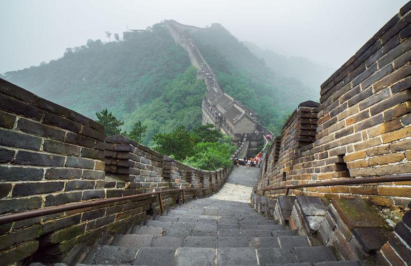 Steps leading towards house