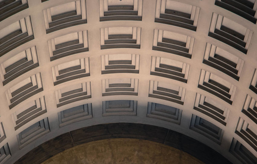 Arch Architectural Detail Architectural Feature Architecture Ceiling Close-up Coffered Detail Italian Light Light And Shadow Lines Pattern Pattern, Texture, Shape And Form Renaissance Repetition Shapes Shapes And Forms Square Texture Textures And Surfaces Warmth