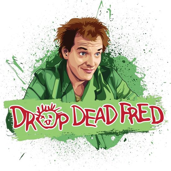 Here it is 😜 DROP DEAD FRED vector art just done !!! #80s classic. #Rikmayall. Think it was the 80s lol ? Dropdeadfred Comedy Rikmayall