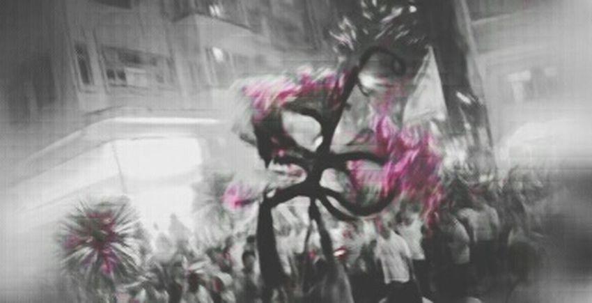 Tradition 137th Tin Hau Fire Dragon Tai Hang Firedragondance Blurred Motion Chase The Dragon Tin Hua Firedragon Blackandwhite Motion