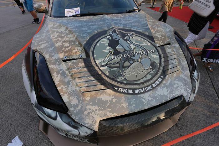 NISSAN SKYLINE GT-R !! パッと見何のクルマかわからんかった(≧∇≦) Car Nissan Japan Art