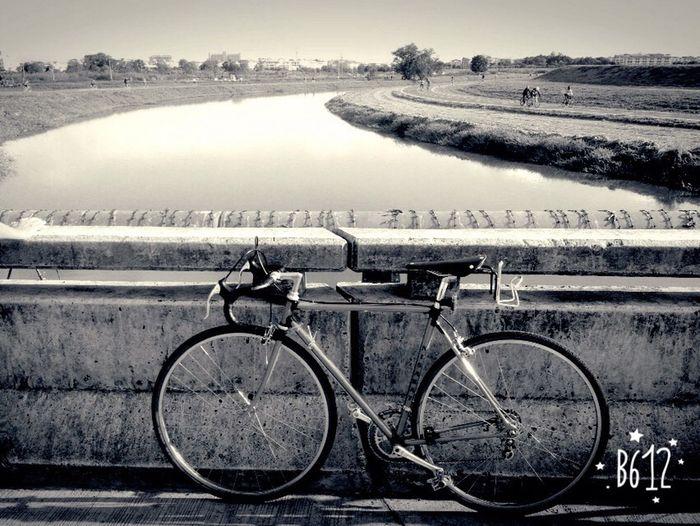 Blackandwhite Blackandwhite Photography Enjoy Cycling Vintage Bike Me Time