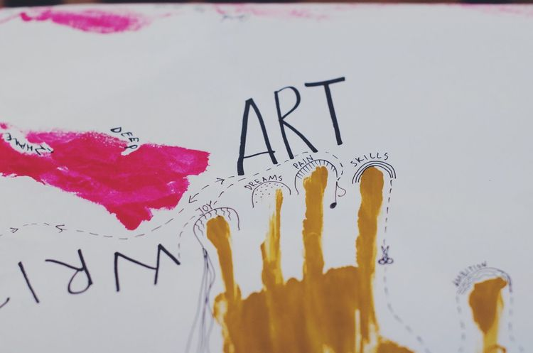 Art Text Paper Close-up No People Communication Creativity Creative White Background Workshop Art Is Everywhere ArtWork Art And Craft Art, Drawing, Creativity Artist Artistic Skill  Training Arts Culture And Entertainment Creative Shots Written Written Words Hand Print