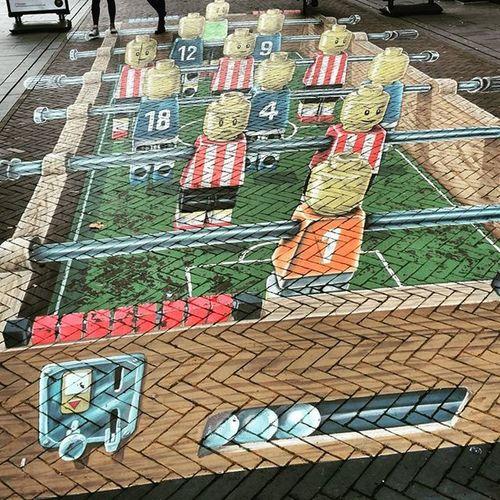 Some 3D street art for Dutchdesignweek DDW Eindhoven Nederland Holland Studyabroad