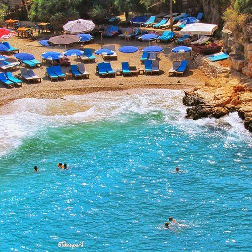 Büyükçakıl plajı Kaş. Büyükçakıl beach kas /turkey Teknisyenarif Kas Büyükçakıl Beach