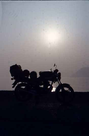 Hanging Out Sunset Biketrip Peleponnes Motorradtour GREECE ♥♥ Honda