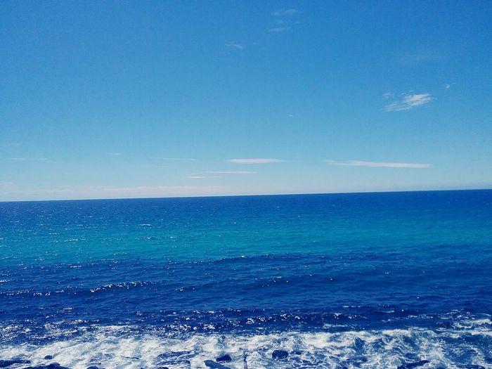 Beautiful Sea Summer Daylight Geography Pebbless Outdoors Burleigh Heads Queensland Beaach Glintt Light Water Nature Beach Blue UnderSea Pastel Colored Clear Sky Backgrounds Wave Sky Tide Coast Seascape