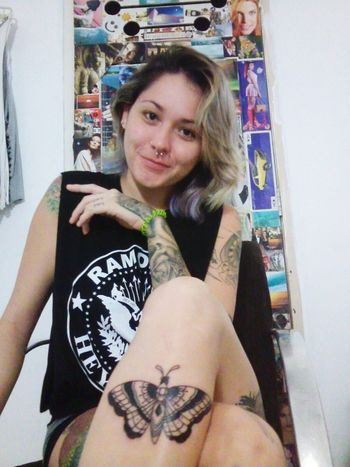 ?????⭐⚡? Tattoo NiceCool Amazing Enjoying Life Moth Tattoo Tattoos Tattooed Girl Photo Of The Day