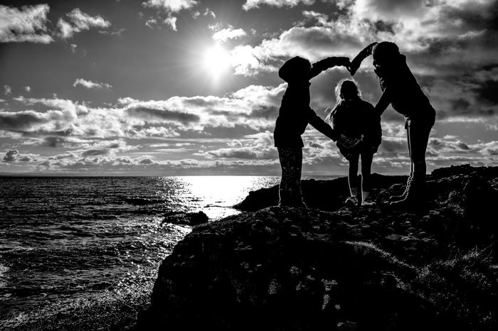 Love Fife Coast Scotland 💕 ELIE Friendship Sunny☀ Blackandwhite Photography Blackandwhite The Week On Eyem