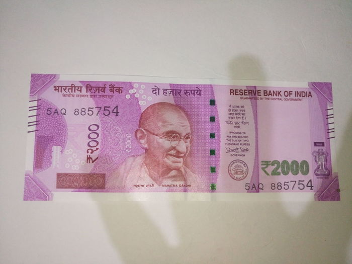 Indian two thousand rupee note 2000 Banknote Business Close-up Currency Indian Finance Finance And Economy Indian Culture  Indian Currency Indian Two Thousand Rupee Note Internet New No People Paper Currency Pink Color Savings Success Two Thousand Rupee Note Wealth