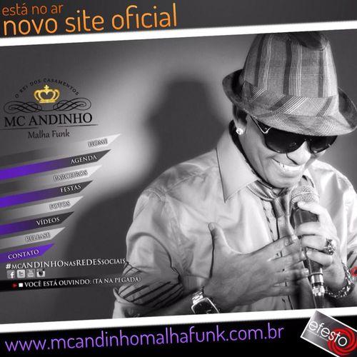Site Web Design Mc Andinho Casamento