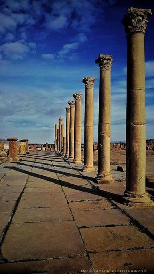 Ancient Civilization King - Royal Person Architectural Column Old Ruin Ancient History City Sky Architecture Built Structure