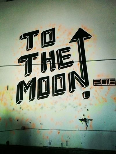 Writing On The Walls Writing To The Moon 2016 New Years Day 2016 Brooklyn Rave❤