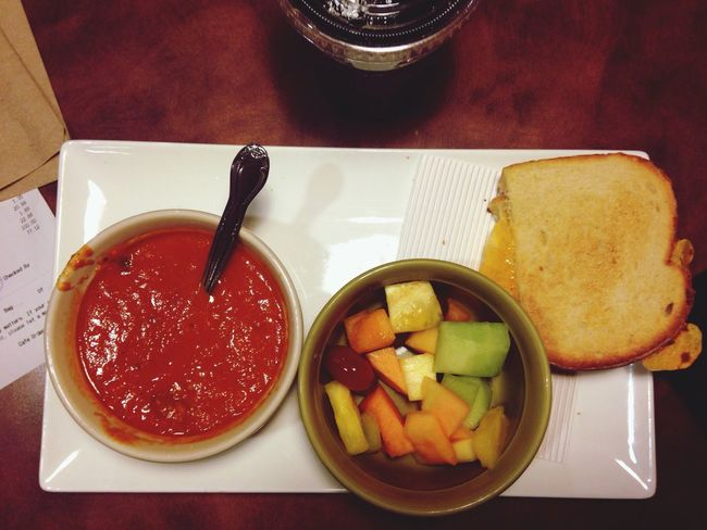 Fruit Panera Bread  Soup