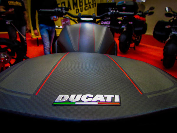 2Wheels Carbonfiber Ducati Duck Emblem  Green White Red Italian Stallion Lifestyles Motorcycle Red Sign