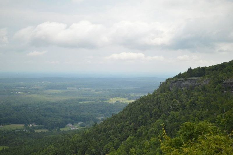 Photography Outdoors Nikonphotography On A Nice Day Nature Thacher State Park NYS Clouds And Sky