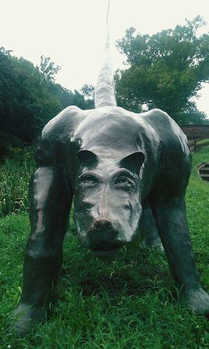Strange Sculpture ArtWork New Hope, Pa Trishann Artlovelaughter