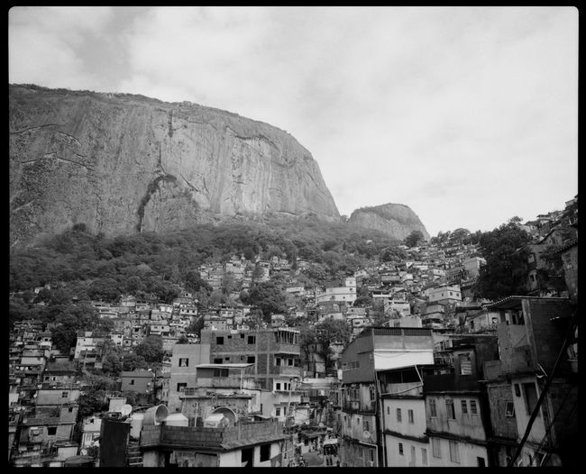 The Santa Marta Favela and Viewpoint of Rio de Janeiro Analogue Photography Atlantic Ocean Black And White Branches Brazil Cloudy Rio De Janeiro Favela Favela Houses Montains    Mountain Trees Nature No People Outdoors Plaubel Makina 67 Rio Bay Rio De Janeiro Rio Favela Rio Mountain Santa Marta South America Top Of Rio Trees Urban View From Above The Architect - 2017 EyeEm Awards