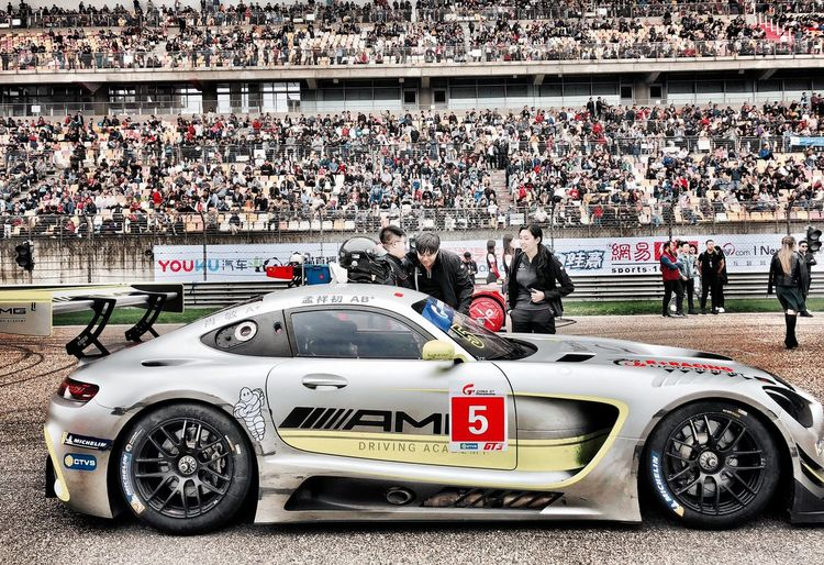 Shanghai AMG GTR Race AMG Mode Of Transportation Crowd Real People Transportation Group Of People People Sport Car Men My Best Photo