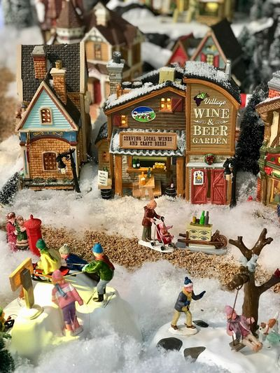 Real People Architecture Fun Snow Outdoors Built Structure Day Leisure Activity Winter Enjoyment Lifestyles Men Building Exterior Vacations Women Cold Temperature Nature People Adult Christmas Decoration Figurine  City Art And Craft Winter