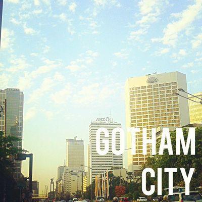 where is batman? Gotham Batman Wearsunday Weekproject Sunday Streetphotography Sky Sunrise Branding Building Architecture City Jakarta Instanesia Instafamous Ighub Instadaily Instanusantara Instatoday Instapop INDONESIA LangitbaliPhotoworks