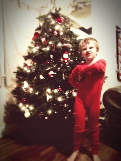 """""""It just itches mom"""" Christmas Long Underwear Pose Holiday Funny Kids Butt Scratcher Gone Wrong Itchy"""