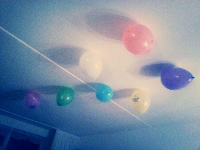 wat een lol met ballonnen hahaha