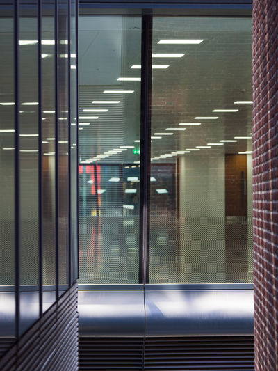 Lights, Camera, No Action Abstract Architecture Building Built Structure Illuminated Indoors  Metal Modern No People Reflection Walbrook Building The Architect - 2018 EyeEm Awards